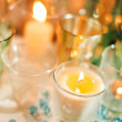 Christmas candles - Stockfoto