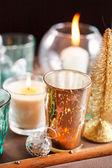 Boże narodzenie świece — Zdjęcie stockowe