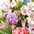 boeket van kleurrijke bloemen — Stockfoto #18617333