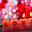 Romantic candles — Stock Photo #18945693