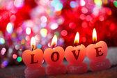 Romantisk ljus — Stockfoto