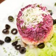 Stock Photo: Russiherring salad