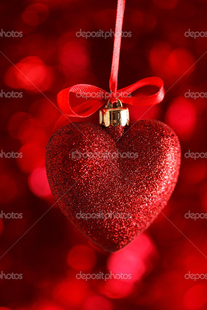 Red heart  Stock Photo #19730537