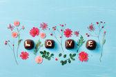 Chocolate Valentine's present — Stok fotoğraf