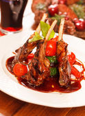 Costolette di agnello arrosto — Foto Stock
