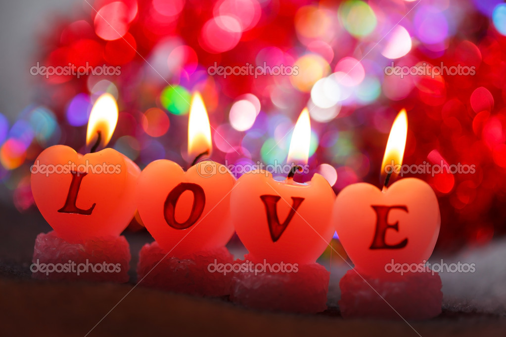 Romantic candles — Stock Photo #20531169