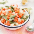 Foto de Stock  : Frozen vegetables