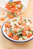 Замороженные овощи — Стоковое фото
