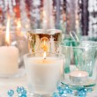 Christmas candles - Stock fotografie