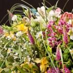 boeket van kleurrijke bloemen — Stockfoto #21788631