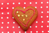 Heart cookie — Stock Photo