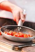 Chef at work — Stock Photo