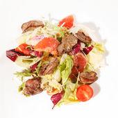 Salade met rundvlees en grapefruit — Foto de Stock