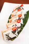 Creative sushi — Stock Photo