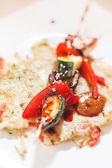 Vegetable kebab — Stock Photo