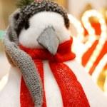 Christmas penguin — Stock Photo #23975975