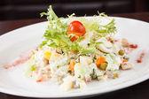 Russische salade — Stockfoto