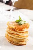 Tasty pancakes — Stock Photo