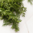 Fresh dill — Stock Photo #24218995