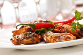 Grilled chicken — Foto Stock
