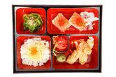 Alimentos de japón bento — Foto de Stock