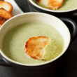 Broccoli soup — Stock Photo