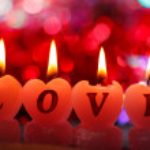 Romantic candles — Stock Photo #25185815