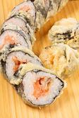 Tempura Maki Sushi — Stock Photo