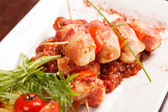 Tasty kebab — Stock Photo