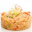 Fried Rice with Vegetables — Stock Photo