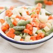 Frozen vegetables — Stock Photo #27224021