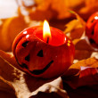 Halloweenpumpor — Stockfoto