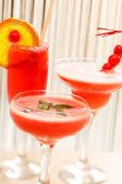 Zomer cocktails — Stockfoto