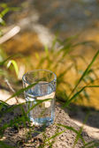 Clean water (healthy concept) — Stock Photo