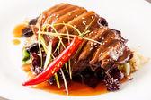 Carne di anatra arrosto — Foto Stock