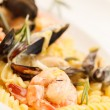 Yummy italipastwith seafood — Stock Photo #28755909