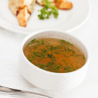 Stock Photo: Chicken broth