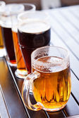 Different kinds of beer — Stock Photo