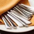 Stock Photo: Dinnerware