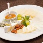 Cheese plate — Stock Photo #28785791