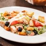 Ceasar salad — Stock Photo