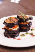 Grilled eggplant — Stock Photo