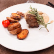 Beef steak with potatoes — Stock Photo #28807277