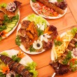 Grilled dishes — Stock Photo