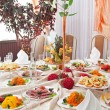 Wedding table setting — Stock Photo #29773405
