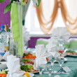 Wedding table setting — Stock Photo #29773477