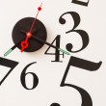 Clock. numbers — Stock Photo