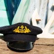 Marine cap — Stock Photo