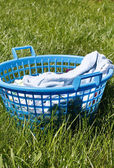 Laundry basket — Foto Stock