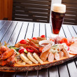 Stock Photo: Appetizer in pub